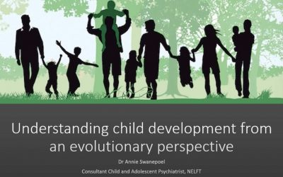 How evolution can help us understand child development and attachment Dr Annie Swanepoel EWMHS LD