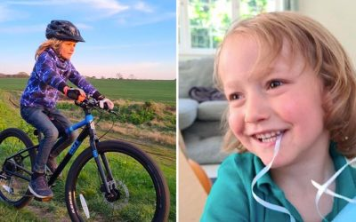 Bauckham Family Hadrian's Wall Cycle Challenge in aid of the Synapse Centre for Neurodevelopment!